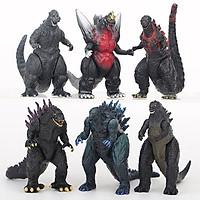Sét Cả 6 Mô Quái Vật Godzilla Trong Godzilla Planet Of Monsters 2014