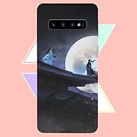 Ốp điện thoại dành cho máy Samsung Galaxy S10 Plus - Trước trận chiến MS ABSDANH009