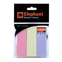 Giấy Ghi Chú Elephant 1x3 Inch 3 Màu OGP 159641