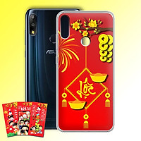Ốp lưng dẻo cho điện thoại Zenfone Max Pro M2 - 01219 7969 LOC02 - Tặng bao lì xì Chúc Mừng Năm Mới - Hàng Chính Hãng