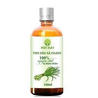 Tinh dầu Sả Chanh Organic 100ml Mộc Mây - tinh dầu nguyên chất từ thiên nhiên - Có kiểm định Bộ Y Tế, chất lượng và mùi hương vượt trội