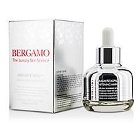 SERUM DƯỠNG TRẮNG HỒNG DA BERGAMO BRIGHTENING EX WHITENING 30ML TẶNG 2 MẶT NẠ JANT BLANC
