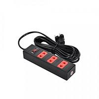 Ổ cắm Điện Quang ECO ĐQ ESK 2BR 32 ECO (3 lỗ 2 chấu, dây dài 2m màu đen đỏ)