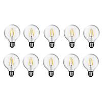 Bộ 10 bóng đèn Led Edison G80 6W đui E27.