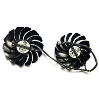 Quạt làm mát GPU 2PCS 95mm PLD10010S12HH 4PIN RX580 cho Card đồ họa GTX 960 GTX980Ti GAMING GTX 950 GTX 1060 1080 470 GAMING