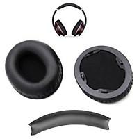 Đệm da tai nghe studio 1.0 - black