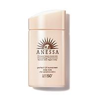 Sữa Chống Nắng Cho Da Nhạy Cảm Anessa Perfect UV Sunscreen Skincare Mild Milk 60ml