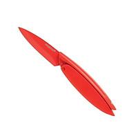 Mastrad - Dao gọt màu đỏ - 7.6cm