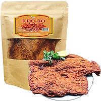 THỊT BÒ KHÔ THƯƠNG HIỆU SK FOOD LOẠI MỀM CAY - BỊCH 500G