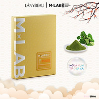 Mặt nạ dưỡng da kiểm soát dầu, ngừa mụn LÁNYBEAU M-Lab Anti Acne & Oil Control hộp 7 miếng (28g/miếng)
