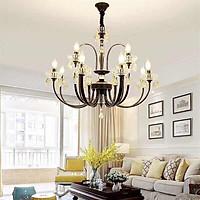 Đèn chùm nến pha lê trang trí phòng khách, phòng ăn, phòng ngủ