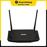 Bộ Phát Sóng Wifi Router Chuẩn Wifi 6 Băng Tần Kép Asus AX56U Đen - Hàng chính hãng