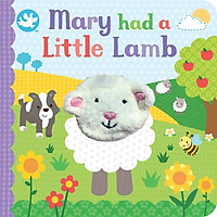 Little Me Mary Had a Little Lamb Finger Puppet Book