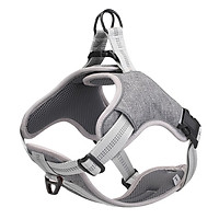 Adjustable Dog Harness Reflective Breathable No Pull Easy to Put on Medium and Large Dogs