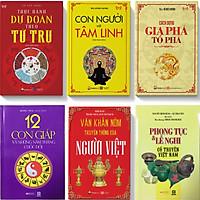 Combo 6 cuốn phong thủy, dự đoán,tâm linh, văn khấn,phong tục lễ nghi