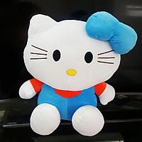 Gấu Bông Mèo Kitty (50 Cm) Gb48 (Xanh Dương)