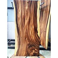 Mặt bàn gỗ me tây nguyên tấm tự nhiên KT 4.5x87x190cm