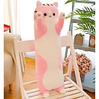 Gấu bông  gối ôm gối trang trí tựa lưng sofa mèo con dễ thương ngộ nghĩnh