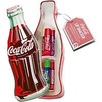 Lip Smacker - Set 6 Cây Son Coca Coca Vỉ Nhôm Vị Truyền Thống - LipSmaker Coca Cola Vintage Bottle Tint