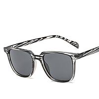 Men Square Frame Sunglasses Retro Stylish Sunglasses Wear Decoration