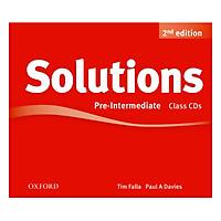 Solutions (2E) Pre-Intermediate Class Audio CDs (3 Discs)
