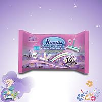 Khăn ướt lau sàn kháng khuẩn tiện dụng IHomeDa  ( 10 miếng ) - iHomeda anti bacteria floor and kitchen wet wipes ( 10 sheets per package)