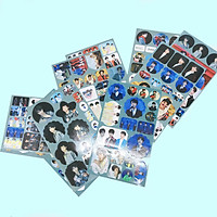 Set 12 ảnh dán TFBoys album sticker ảnh dán idol dễ thương