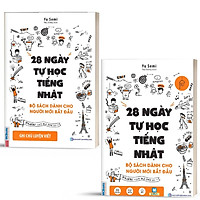 Sách - Combo 28 ngày tự học tiếng Nhật