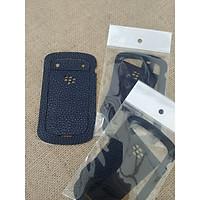 Dán Da Lưng Da Thật  Dành Cho Điện Thoại Blackberry Bold 9900/9930 - Dán Da Màu Đen Bảo Vệ Mặt Lưng