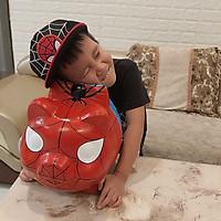 heo đất tiết kiệm tiền cỡ lớn mẫu NGƯỜI NHỆN  - ống heo làm quà tặng sinh nhật được trẻ em yêu thích