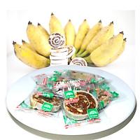 Bánh chuối phồng sầu riêng Tư Bông cao cấp 350gr/500gr - ít ngọt thơm ngon bổ dưỡng đặc sản Đồng Tháp