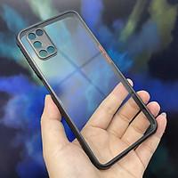 Ốp lưng cho Oppo A52 - A92 trong viền màu che camera 4 Gốc chống sốc