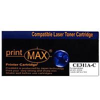 Hộp mực in Laser màu Xanh PrintMAX dành cho máy HP CE311A ( C ) - Canon 7018– Hàng Chính Hãng