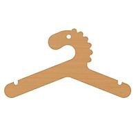 Móc treo quần áo trẻ em bằng gỗ PLYWO.HAKID-033 | R26 x C17cm | Bảo hành bảo dưỡng lên đến 5 năm | Giao hàng miễn phí
