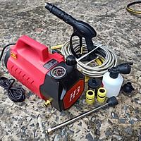 Máy phun xịt rửa xe mini awa H3 chỉnh áp công xuất 2400W thế hệ mới
