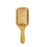 Hair Brush Comb Bamboo Paddle Hairbrush Massage Brush Comb Anti-static for Hair Styling Combing & Scalp Massage