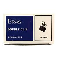 Bộ 4 Kẹp Bướm Đen 19 mm - Eras E512