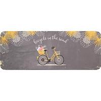 Thảm Carmi DTP In Hình Xe Đạp Bike (45x120 cm)
