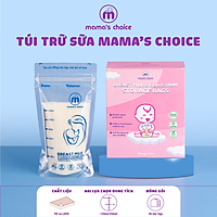 Túi trữ sữa và bảo quản sữa mẹ Mama's Choice (Hộp 30 túi), Bịch đựng sữa mẹ, có khóa zip tiện lợi an toàn