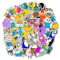 Sticker 50 miếng hình dán Adventure Time SetB