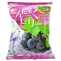Combo 6 gói Thạch trái cây Konjac Jelly Aguri vị Nho gói 115gr