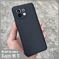 Ốp lưng cho Xiaomi Mi 11 TPU dẻo đen che Camera
