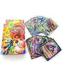Bộ Thẻ Bài Pokemon 100 Pc EX  GX Box Trading Card Game TCG Sưu Tập Đối Kháng Đẹp Đọc Đáo