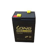 Ắc Quy LONG 6V 5Ah – WP5-6 - Ắc Quy Cho UPS, Inverter, Cân Điện Tử