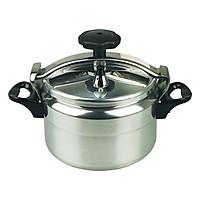 Nồi áp suất đun ga đáy từ 5L size 22cm AG198 dùng được trên cả bếp từ và các bếp khác, màu ngẫu nhiên-hàng chính hãng