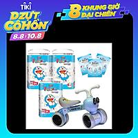 Combo 3 gói tã quần Goon Friend XXL34 cộng miếng tặng xe chòi chân con ong phát đèn nhạc VBCare 052