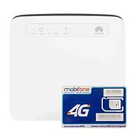 Huawei E5186 | Bộ phát wifi 4G tốc độ 300Mbps + Sim 4G Mobifone Trọn Gói 12 Tháng - Hàng Nhập khẩu