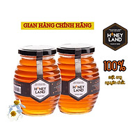 Combo 2 Thực phẩm chức năng hũ mật ong thiên nhiên hoa Xuyến Chi 500g