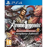 Đĩa Game Ps4: Dynasty Warriors8 Extrem Legends - Hàng Nhập Khẩu