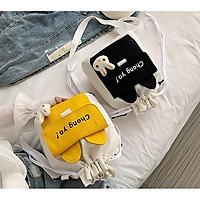 Túi vải nữ đeo chéo phong cách Nhật Bản CHONG YA TNX 458